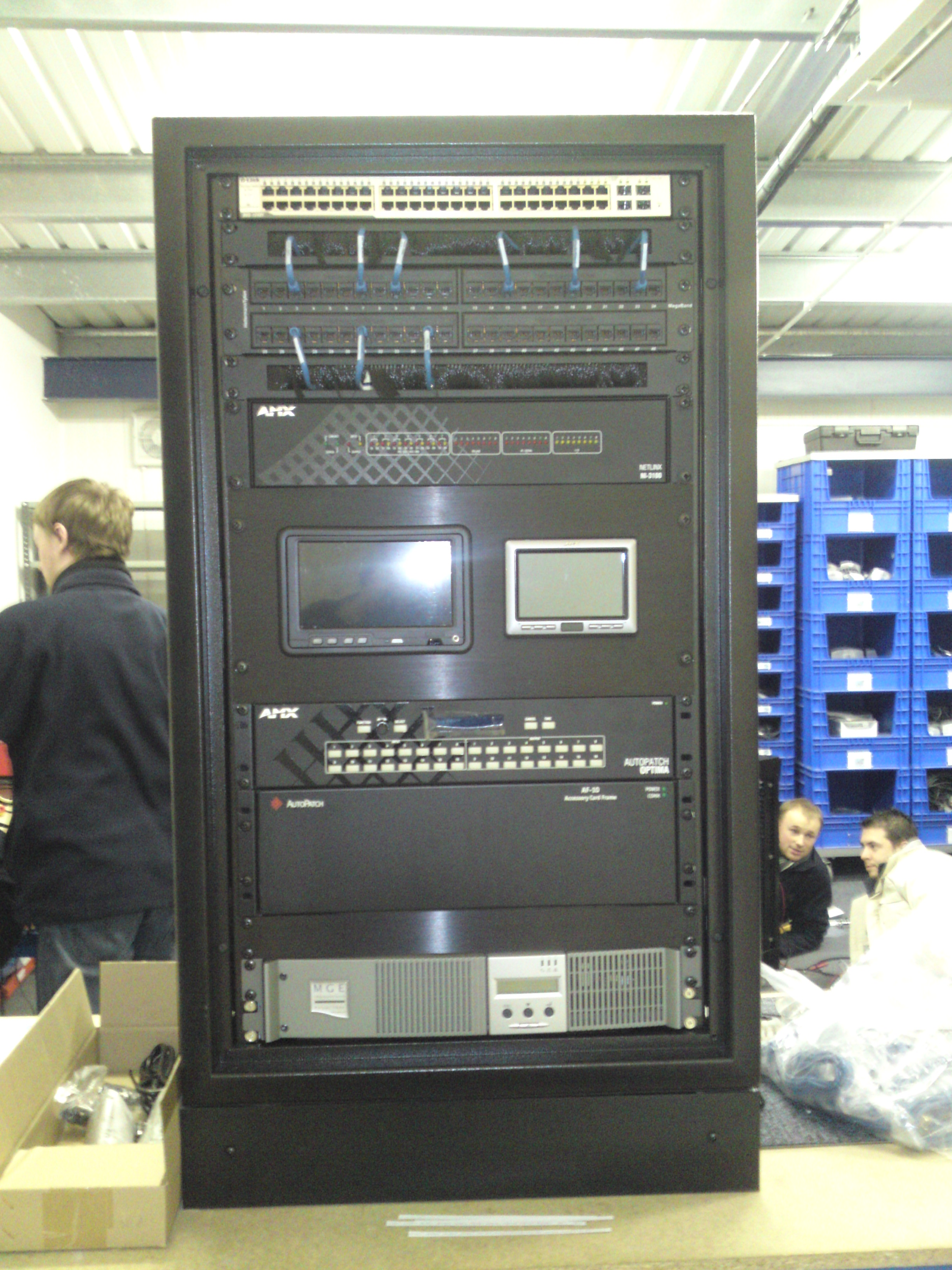 Audio visual control centre